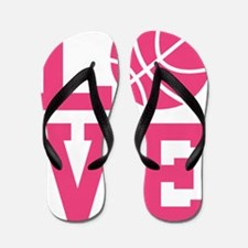 love-basketball Flip Flops
