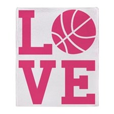 love-basketball Throw Blanket