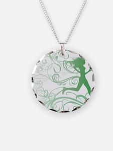 green_runner_girl Necklace