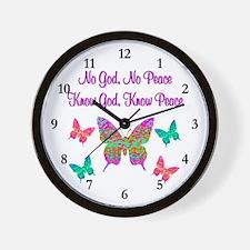 PRAISE GOD Wall Clock