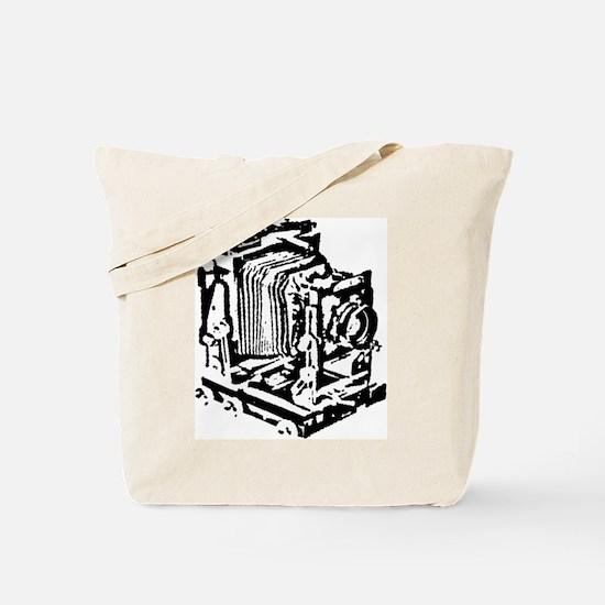 Ebony Large Format Camera Tote Bag