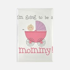 mommy to be (front only) Rectangle Magnet