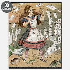 alice magic lantern slide Puzzle