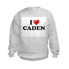 I LOVE CADEN T-SHIRT CADEN SH Sweatshirt