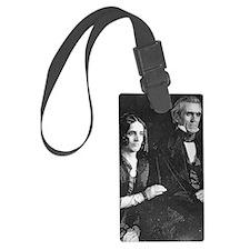 ART James and Sarah Polk Luggage Tag