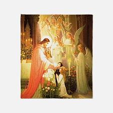 Angelic Choirs Throw Blanket