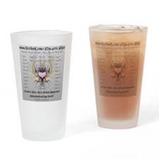 Truckers Wives Drinking Glass