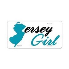 jersey-girl Aluminum License Plate