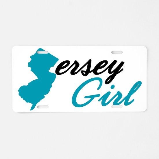 jersey-girl Aluminum License Plate