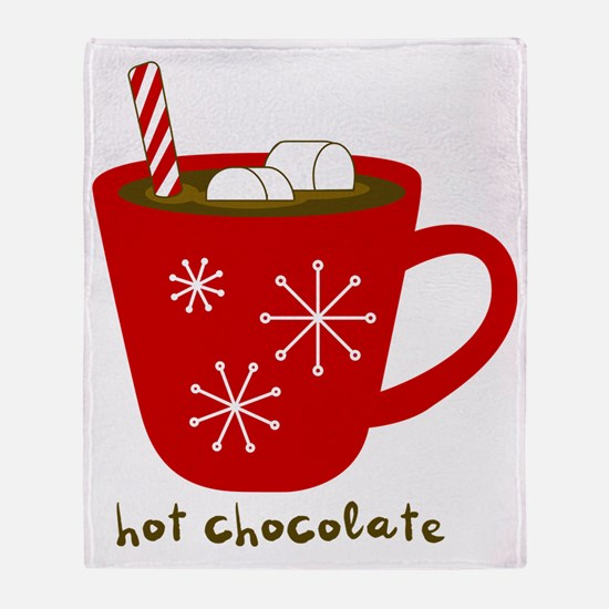 Holiday Hot Chocolate Throw Blanket