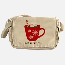 Holiday Hot Chocolate Messenger Bag