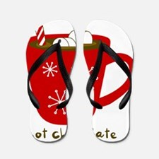 Holiday Hot Chocolate Flip Flops