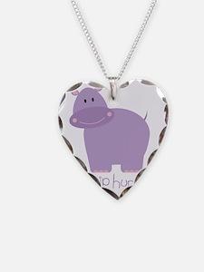 Hip Hip Hurray Hippo Necklace