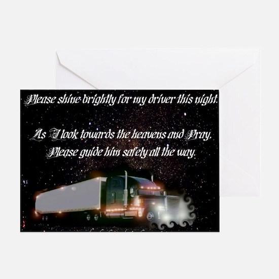2-twinkletwinkly Greeting Card