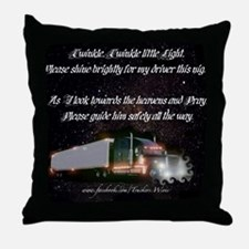 2-twinkletwinkly Throw Pillow