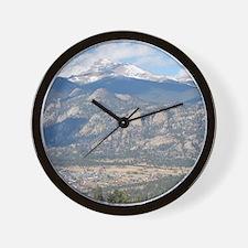 Estes Park Colorado Wall Clock