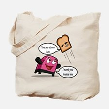 Lucky7's Bread & Toaster Tote Bag