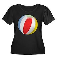 Beachball Plus Size T-Shirt