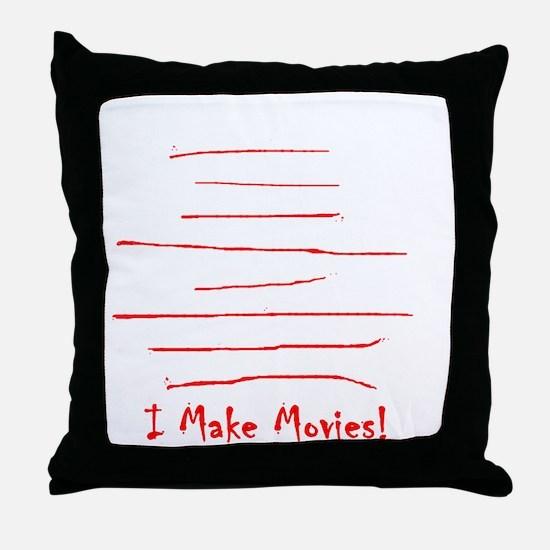 Moviemaker-Tm Throw Pillow