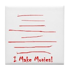 Moviemaker-Tm Tile Coaster