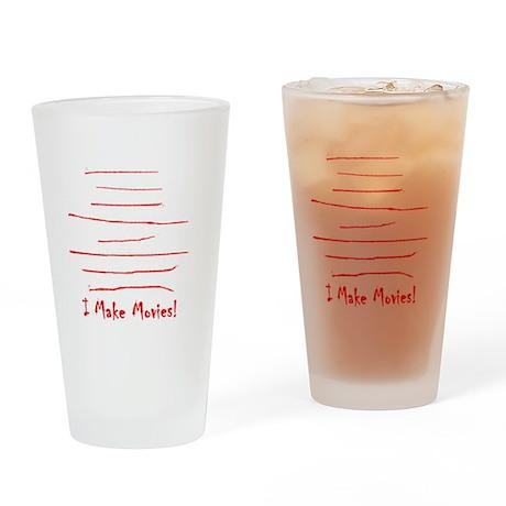 Moviemaker-Tm Drinking Glass