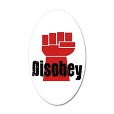 Disobey Wall Decal