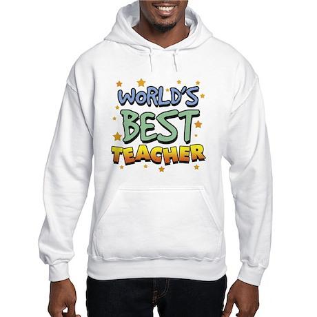 World's Best Teacher Hooded Sweatshirt