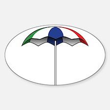 Beach Umbrella Decal