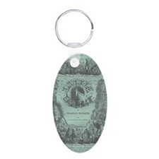 Littledorrit_serial_cover Aluminum Oval Keychain