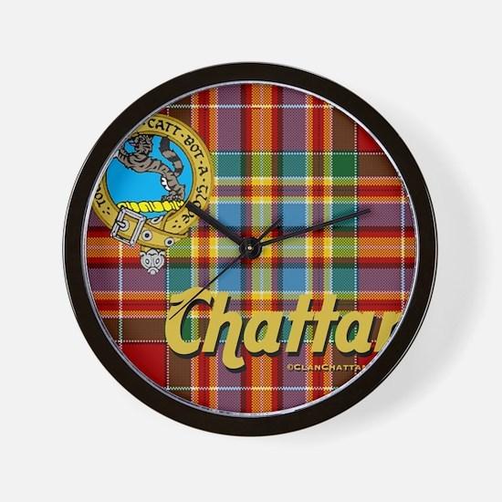 chattan9.5x8 Wall Clock