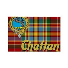 chattan9.5x8 Rectangle Magnet