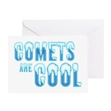 coolComets Greeting Card