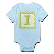 Baby Block Letter I Body Suit