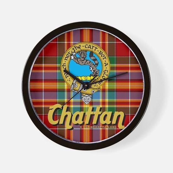 chattan4.5x4.5 Wall Clock