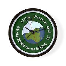 reason-for-the-season-badge-2000 Wall Clock