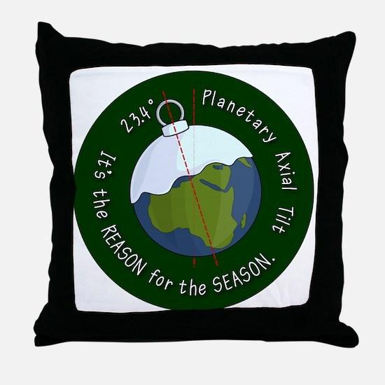 reason-for-the-season-badge-2000 Throw Pillow