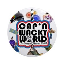 capnwackyworldshirt Round Ornament