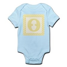 Baby Block Letter O Body Suit