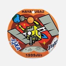 Hayabusa 2 Logo Round Ornament