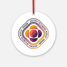 Psyche Mission Logo Round Ornament