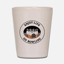 bowling1 Shot Glass