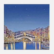 Stars over Venice mp Tile Coaster