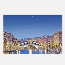 Stars over Venice mp Postcards (Package of 8)