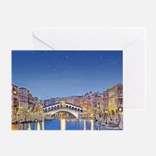 Stars over Venice mp Greeting Card