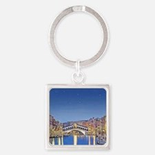 Stars over Venice mp Square Keychain
