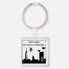 2-nyc problem2small Square Keychain
