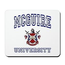 MCGUIRE University Mousepad