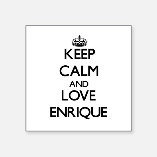 Keep Calm and Love Enrique Sticker
