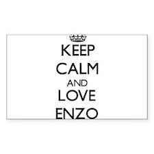 Keep Calm and Love Enzo Decal