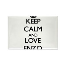 Keep Calm and Love Enzo Magnets
